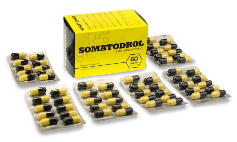 somatodrol - suplement na masę mięśniową